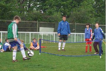 Bild von Junior Fussballtennis